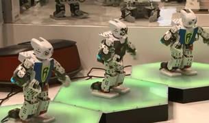 Los nuevos prototipos de robot se presentan en Pekín