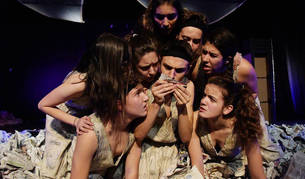 La compañía juvenil La Inestable 21, formada por actores de 13 a 19 años, llevará a escena la obra Q el próximo 5 de noviembre.