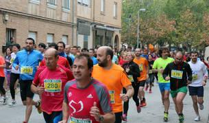 Participantes en la Carrera de Amimet celebrada el pasado año.