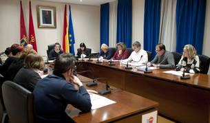 Imagen de archivo de una sesión plenaria anterior en Peralta.