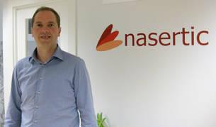 foto de iñaki pinillos, gerente de Nasertic