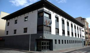 Edificio del Juzgado de Tafalla.