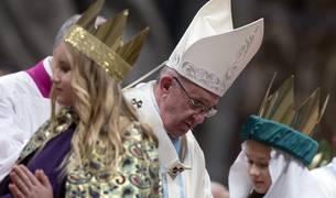 El Papa, en la primera misa de 2017