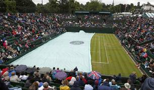 Imagen de la pista de Wimbledon