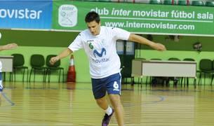 Genario, en su etapa en el Inter Movistar.