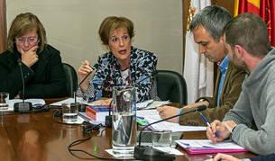 Durante todo el pleno el intercambio de acusaciones entre gobierno y oposición fue constante.