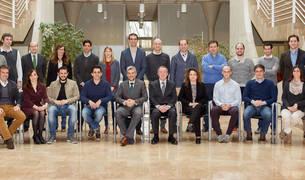foto de grupo de los miembros del nuevo Club de Emprendedores UPNA