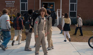 Fotograma de la segunda temporada de 'Stranger Things'.