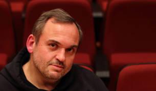 Javier Pedreira, 'Wicho', presentó el libro en el Planetario de Pamplona.