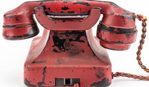 Imagen del teléfono personal de Adolf Hitler