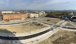El nuevo espacio surgido tras el derribo de las naves industriales y edificios de Iberdrola es uno de los cambios más visibles de la nueva urbanización.