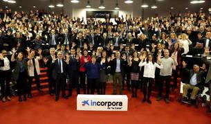 foto de los asistentes al acto conmemorativo de los 10 años del Programa Incorpora en Navarra