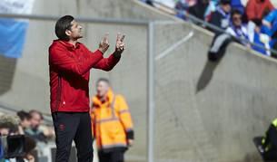Imágenes del encuentro entre Espanyo y Osasuna en el RCDE Stadium