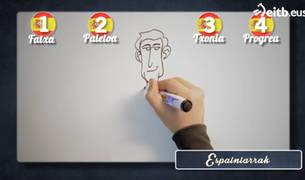 Captura del programa emitido por el ente público vasco.