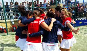 Arena Entrena Pádel, campeón de España en categoría femenina