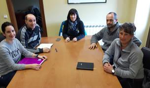 Nerea Murugarren Tulebras, Gerardo Jiménez Ibáñez, Ana Muñoz Castellanos, José Javier López Lana y Aitziber Etxeberria Álvarez componen la nueva corporación.