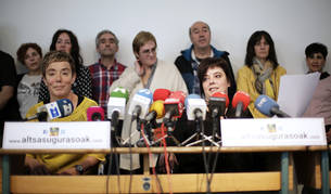 """Familiares de los procesados de Alsasua piden su """"inmediata puesta en libertad"""""""