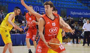 El capitán, Iñaki Narros, en un partido anterior.
