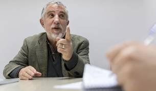 Jesús Ballaz Zabalza, autor del libro 'El tren que se zamparon los ratones'.