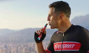 Fotograma del anuncio de Enervit Sport.