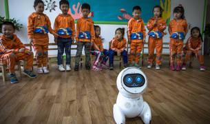 Keeko, el robot de las guarderías