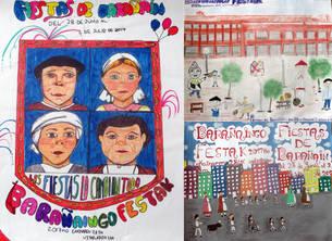 La imagen de las fiestas desde tres miradas infantiles