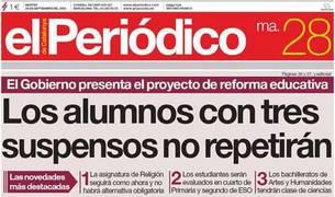 El Periódico desconvoca la huelga tras tres días sin edición en papel