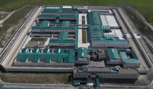 Imagen de la vista general del centro penitenciario de Pamplona abierto en 2012 y cuyas instalaciones ocupan 190.000 metros cuadrados.