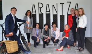 foto de expertas en RRHH en el hotel Arantza