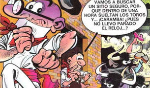 Super Mortadelo (nº 40, 1975). Editorial Bruguera (Barcelona).