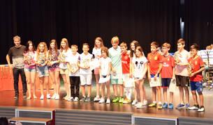 Fin de curso y premios en el CP Juan Bautista Irurzun de Peralta