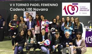 El VII Torneo de Pádel Femenino entrega sus trofeos
