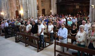 Asistentes a la recepción de los 68 nuevos socios de la Congregación de Santa Ana.