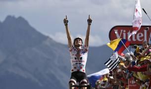 El francés Barguil corona la Col d'Izoard