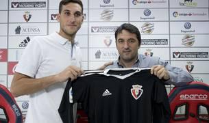 """Sergio Herrera: """"La apuesta de Osasuna me da ganas de aportar el máximo"""""""