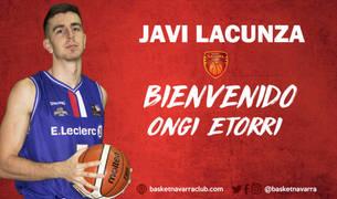 Javi Lacunza, fichaje del Basket Navarra.