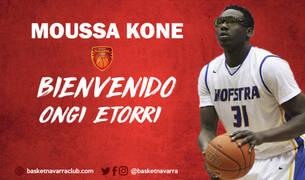Kone, nuevo jugador del Basket Navarra