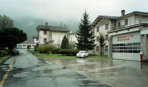 Las antiguas Casas de Camineros de Alsasua darán cabida ahora a un albergue de transeúntes.
