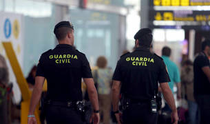 La Guardia Civil en El Prat