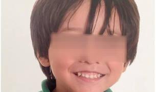 Imagen del niño australiano fallecido en el atentado de Barcelona.