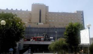 Imagen del hospital sevillano de Valme, donde ha fallecido la mujer.