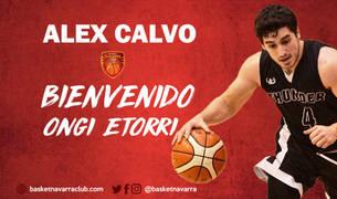 Álex Calvo regresa al Basket Navarra
