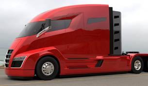 Foto del Tesla Semi Truck de Tesla.