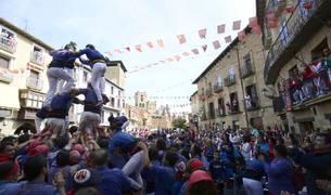 Fotos de las fiestas patronales en Olite en honor a la Exaltación de la Santa Cruz.