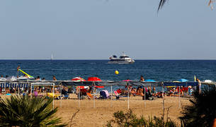 Playa de Cambrils.