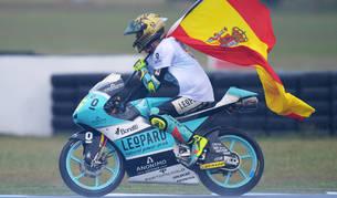 Joan Mir se proclama campeón de Moto3 en Australia