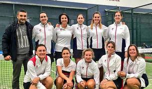 El equipo femenino del Club de Tenis