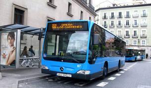 Imagen de un autobús de Madrid.