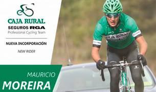 Anuncio del Caja Rural en las redes sociales del fichaje de Mauricio Moreira.