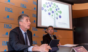 José Mª Bariáin y José Antonio Janín, del Grupo IMQ Navarra